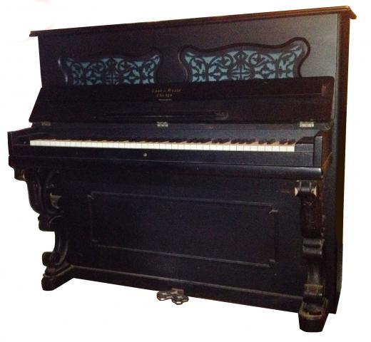 Lyon & Healy Boudoir Upright #8093: The Piano Museum
