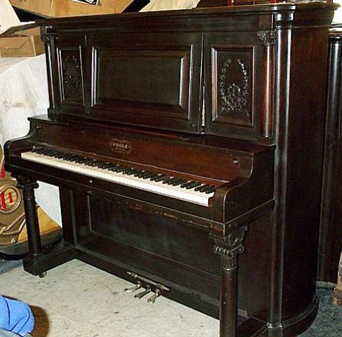 Poole Upright: The Piano Museum